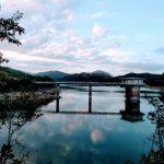 【湖】多可町の翠明湖(すいめいこ)を自転車で回ってみた