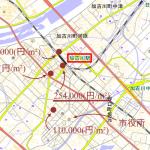 加古川で一番高い土地を調べてみた!