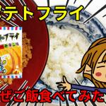 ポテトフライの混ぜご飯食べてみた!